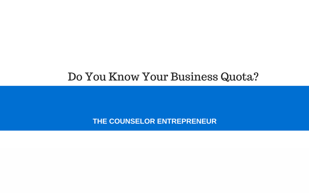 Do You Know Your Business Quota?