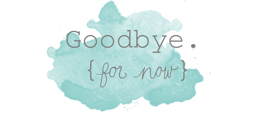 All Goodbyes Are Not Gone